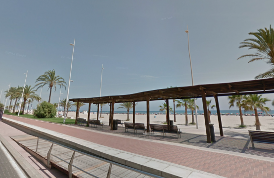 2 bedroom apartment for sale, third line from the sea in Gandía